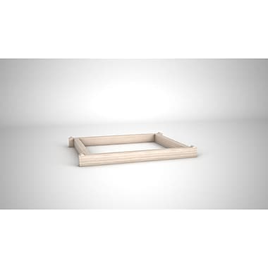 Quagga Designs Qdbasecream-m Support Base for qd-box™, Off-White Stain