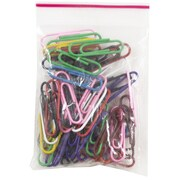 JAM Paper® Colored Standard Paper Clips, Small, Assorted Paperclips, 25/pack (21825144)