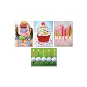 "Portal,  Fun Photography Cards, Birthday, 5"" x 7"", 4 Pack"