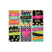 """Viabella, Foil Finished Neon Brights Assortment, Assorted, 5"""" x 7"""", 6 Pack"""