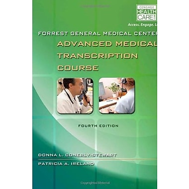 Forrest General Medical Center Advanced Medical Transcription Course: with Audio Transacription Printed Access Card, Used Book