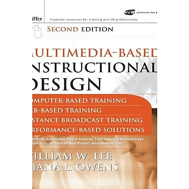 Multimedia-based Instructional Design, Used Book