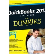 QuickBooks 2012 All-in-One For Dummies Used Book (9781118091197)