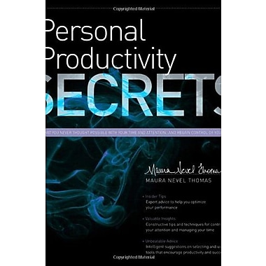 Personal Productivity Secrets, Used Book