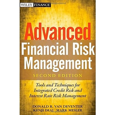 Advanced Financial Risk Management: Tools & Techniques for Integrated Credit Risk & Interest Rate Risk Management, Used Book