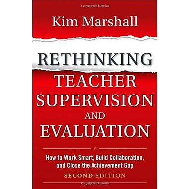 Rethinking Teacher Supervision & Evaluation, Used Book (9781118336724)