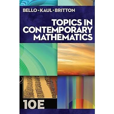 Topics in Contemporary Mathematics Used Book (9781133107422)