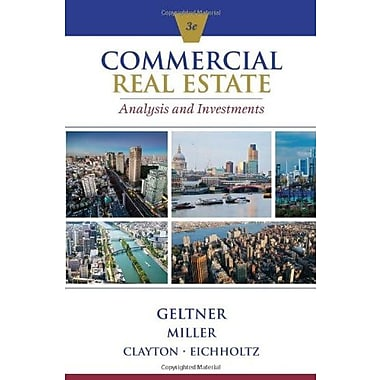 PKG COMMERCIAL REAL ESTATE ANALYSIS & INVESTMENTS W/CD Used Book (9781133108825)