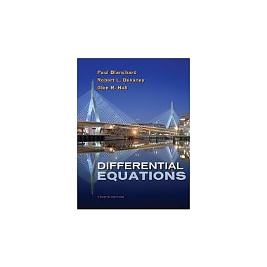Differential Equations Used Book (9781133109037)