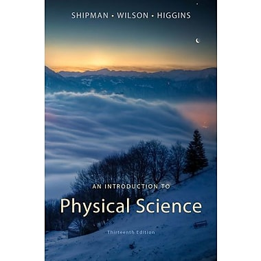 An Introduction to Physical Science Used Book (9781133109099)