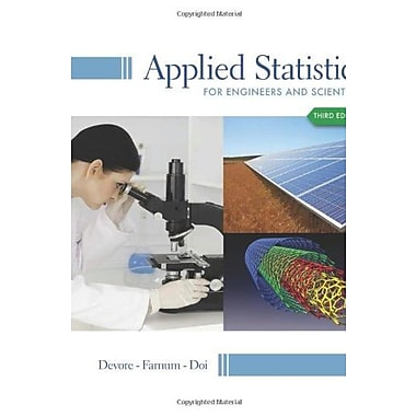 Applied Statistics for Engineers and Scientists Used Book (9781133111368)