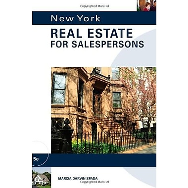 NEW YORK REAL ESTATE FOR SALEPERSONS Used Book (9781133111603)