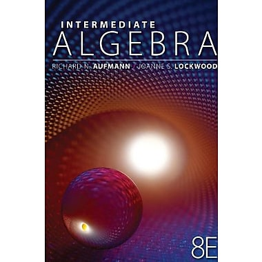 Student Solutions Manual for Aufmann/Lockwood's Intermediate Algebra with Applications, 8th Used Book (9781133112372)