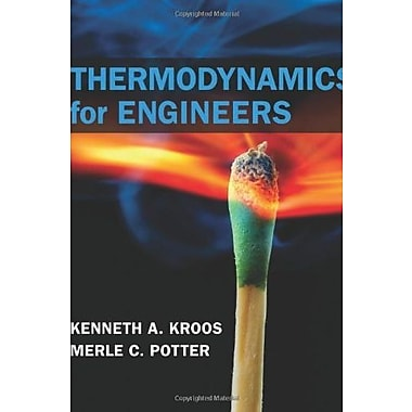 Thermodynamics for Engineers Used Book (9781133112860)