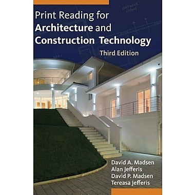 Print Reading for Architecture and Construction Technology with Premium Website Printed Access Card Used Book (9781133127277)