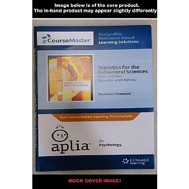 Aplia 1-Semester Printed Access Card for Gravetter/Wallnau's Statistics for the Behavioral Sciences