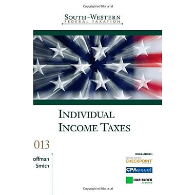 South-Western Federal Taxation: Individual Income Taxes 2013 Used Book (9781133188704)