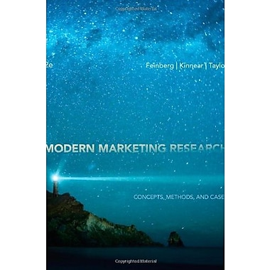 Modern Marketing Research: Concepts, Methods and Cases (with Qualtrics Printed Access Card) Used Book (9781133188964)