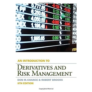 Introduction to Derivatives and Risk Management Used Book (9781133190196)