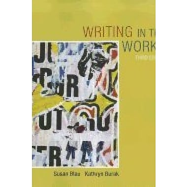 WRITING IN THE WORKS-COURSEMATE ACCESS Used Book (9781133229940)