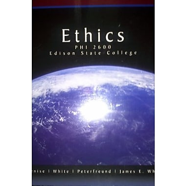 Ethics PHI 2600 Edison State College Used Book (9781133234647)
