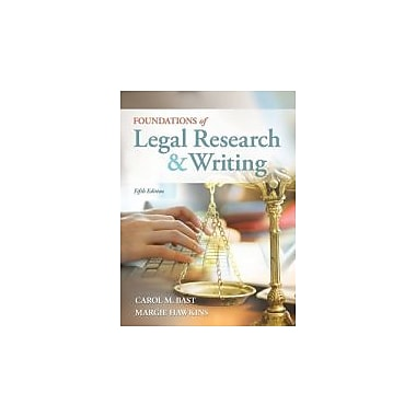 Foundations of Legal Research and Writing Used Book (9781133278290)