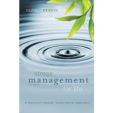 Bundle: Stress Management for Life, 3rd + Health CourseMate with eBook Printed Access Card Used Book (9781133299875)