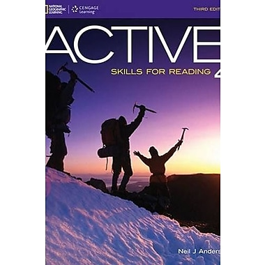 ACTIVE Skills for Reading 4 Used Book (9781133308096)