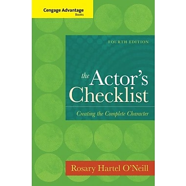 Cengage Advantage Books: The Actor's Checklist Used Book (9781133308652)
