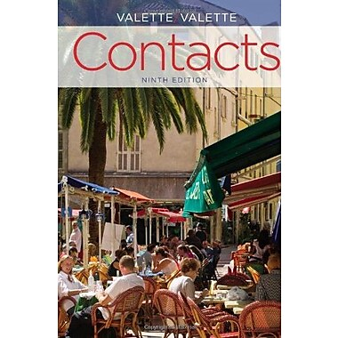 Contacts: Langue et culture fran aises Used Book (9781133309581)