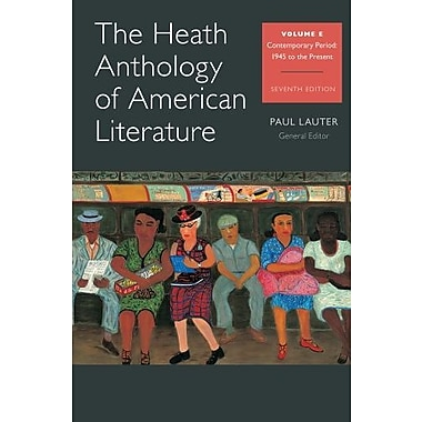 The Heath Anthology of American Literature: Volume E Used Book (9781133310266)