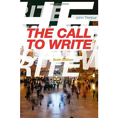 The Call to Write Used Book (9781133311140)