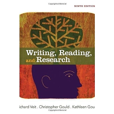 Writing, Reading and Research Used Book (9781133311171)