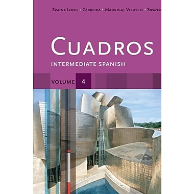 Student Activities Manual, Volume 4 for Cuadros Student Text: Intermediate Spanish Used Book (9781133311645)