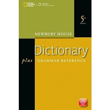 Newbury House Dictionary plus Grammar Reference, 5th Edition Used Book (9781133312857)