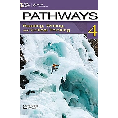 Pathways 4: Reading, Writing and Critical Thinking Used Book (9781133316862)