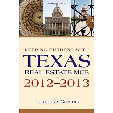 KEEPING CURRENT W/TEXAS REAL ESTATE MCE Used Book (9781133364726)