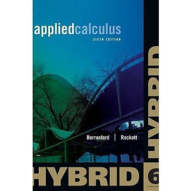 Applied Calculus, Hybrid Edition (9781133364771)