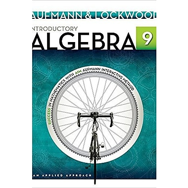 Introductory Algebra: An Applied Approach Used Book (9781133365433)
