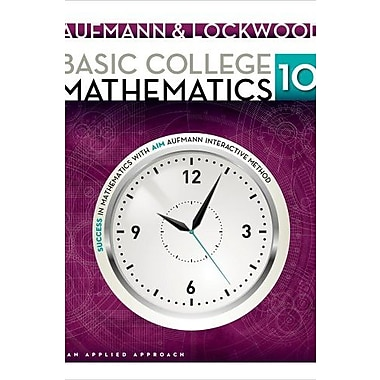 Basic College Mathematics: An Applied Approach Used Book (9781133365440)