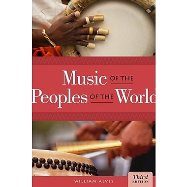 Bundle: Music of the Peoples of the World, 3rd + CD Set Used Book (9781133394693)