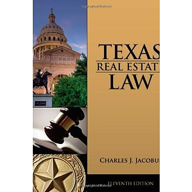 TEXAS REAL ESTATE LAW Used Book (9781133435075)