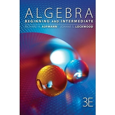 Student Solutions Manual for Aufmann/Lockwood's Algebra: Beginning and Intermediate, 3rd Used Book (9781133491316)