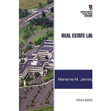 Real Estate Law Used Book (9781133586555)