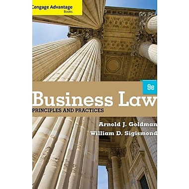 Cengage Advantage Books: Business Law: Principles and Practices Used Book (9781133586562)