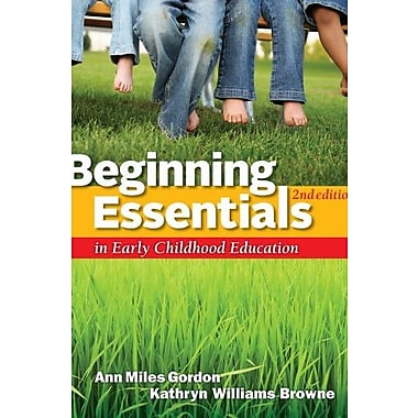 Cengage Advantage Books: Beginning Essentials in Early Childhood Education Used Book (9781133591566)