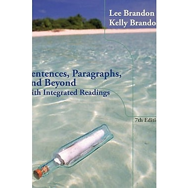 Sentences, Paragraphs and Beyond: With Integrated Readings Used Book (9781133591924)