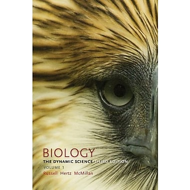 Biology: The Dynamic Science, Volume 1 (Units 1 & 2) Used Book (9781133592044)