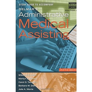 Study Guide for Delmar's Administrative Medical Assisting, 5th Used Book (9781133603108)