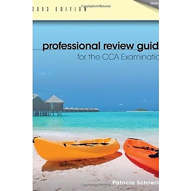 Professional Review Guide for the CCA Examination, 2013 Edition Used Book (9781133608332)